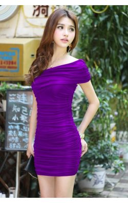 Japon Style Club Elbise
