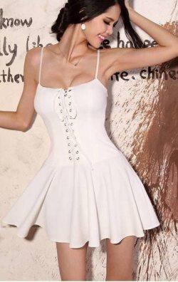 Korse Görünümlü Elbise