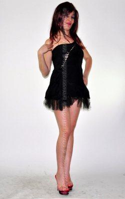 Çapraz Dekolteli Mini Elbise