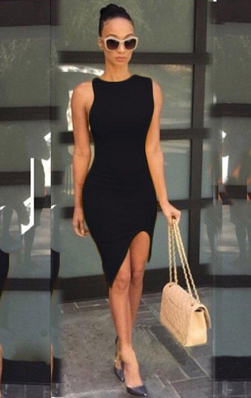 101ebbe6b40bf Özel Tasarım Asimetrik Mini Elbise Fiyatı
