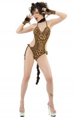 Body Style Fantazi Leopar Kostümü