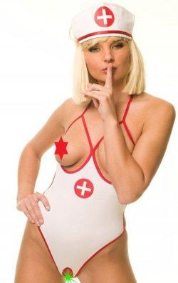 Body Style Fantazi Hemşire Kostümü