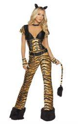 Kuyruklu Bayan Leopar Kostümü