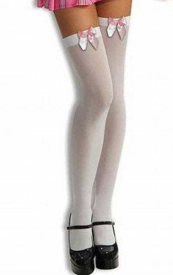 Kurdelalı Dizüstü Çorap