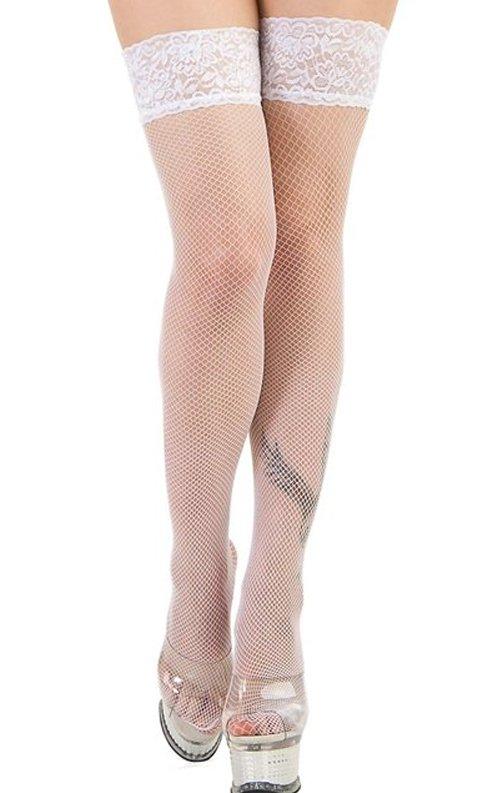Beyaz Gelin Çorabı