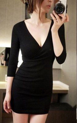 Japon Style Mini Elbise