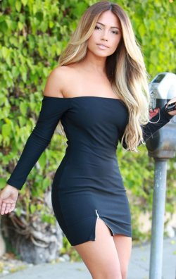 Siyah Fermuarlı Straplez Mini Elbise