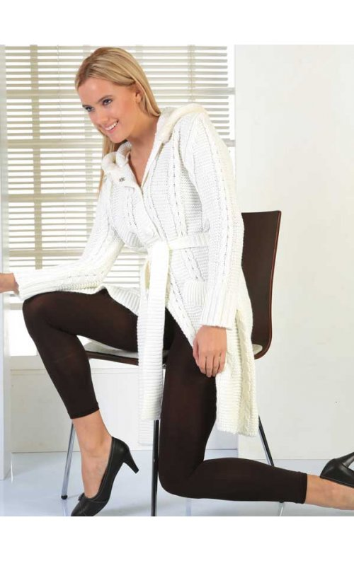 Külotlu Termal Tayt Kadın Giyim Kahverengi