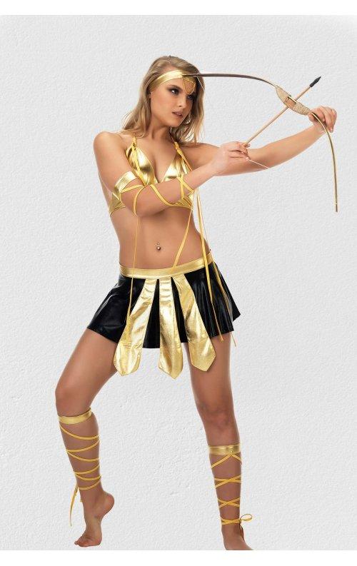 Seksi Amazon Kadını Kostümü