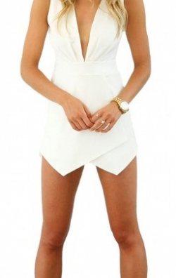 Şortlu Mini Tulum Elbise