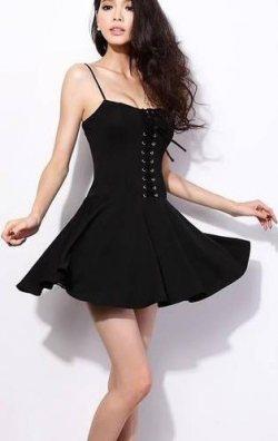Korse Tarzı Elbise