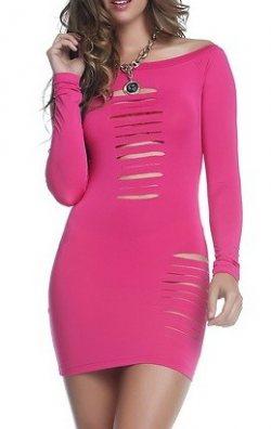 Yırtık Model Elbise
