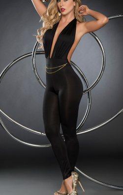 Zincirli Tulum Elbise