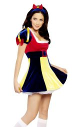 Rengarenk Pamuk Prenses Kostümü
