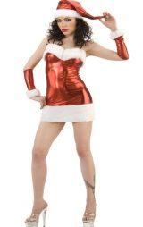 Seksi Lame Noel Kostümü