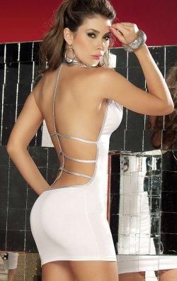 5affe91ae9b68 Sırt Dekolteli Sexy Mini Elbise