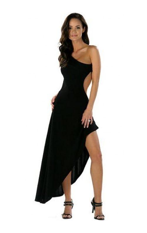 Astarsız Uzun Elbise