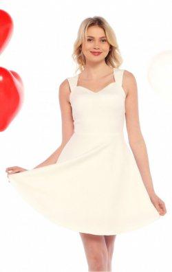 Beyaz Mezuniyet Elbisesi