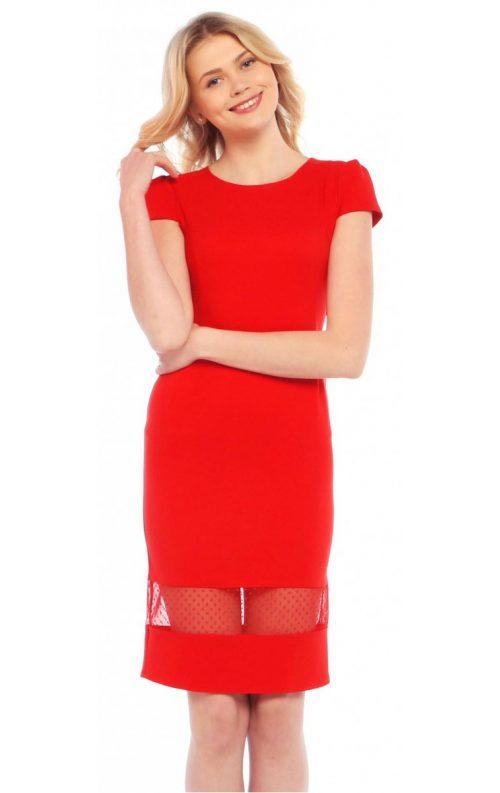 Kırmızı Mezuniyet Kıyafeti