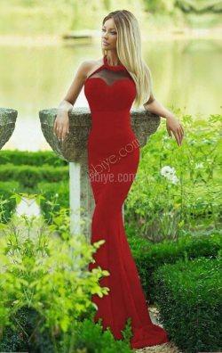Sharon Kolsuz Balık Elbise