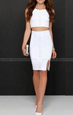 Blanie İki Parça Elbise