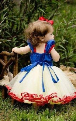 Tütü Çocuk Prenses Kostümü