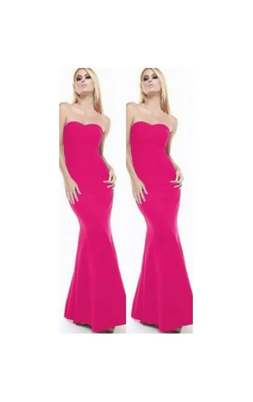 32524e4564e21 Fuşya Balık Elbise Fiyatı