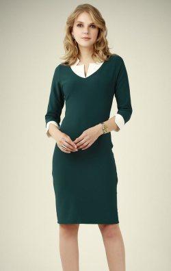 Kısa Kol Trend Abiye Elbise