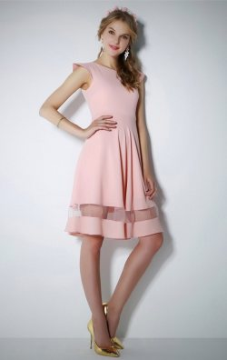 Kloş Pudra Elbise