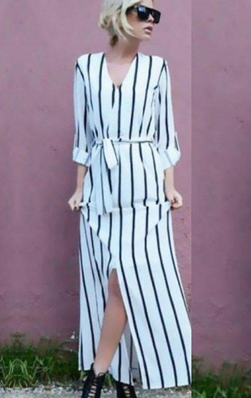 Line Gömlek Elbise