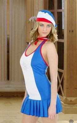 Bayan Denizci Kostümü
