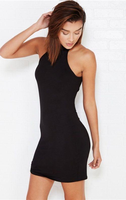 Özel Tasarım Siyah Club Elbise