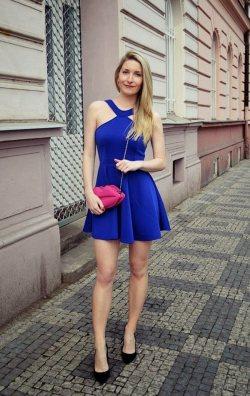 Tasarım Seksi Mini Elbise