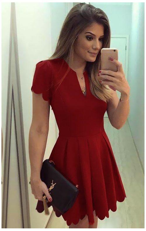 Papatya Model Elbise