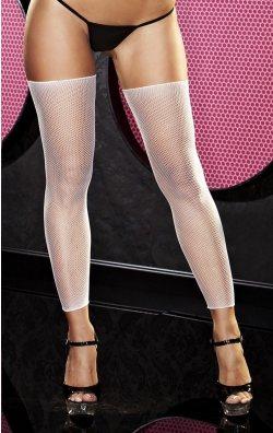 Kısa Beyaz File Çorap