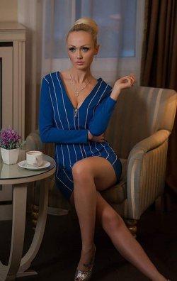 Saks Mavi Fermuarlı Mini Elbise