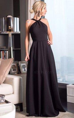 Kloş Etekli Uzun Abiye Elbise