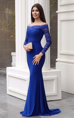 90114b082d700 Saks Straplez Dantelli Balık Abiye Elbise